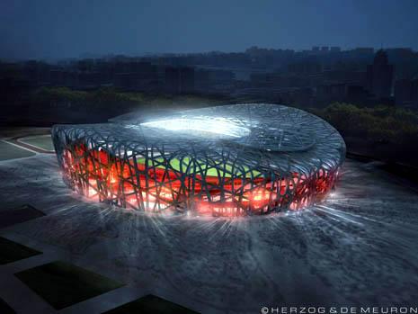 معماری مکانهای بازیهای المپیک 2008
