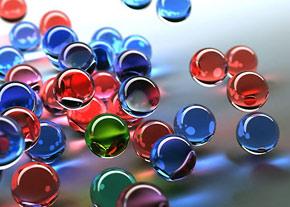 حباب رنگي ابداع شد