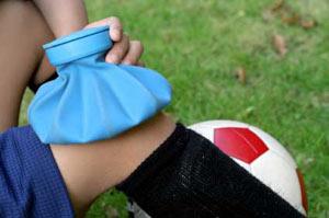 آسیب دیدگی های نقاط مختلف بدن در ورزش