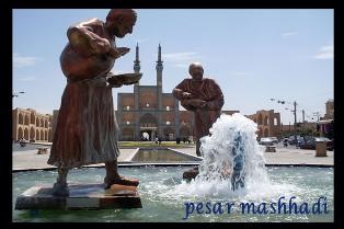 میدان امیر چخماق یزد به روایت تصویر