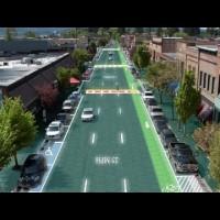 تکنولوژی جادههای خورشیدی برای ذوب برف پیاده رو