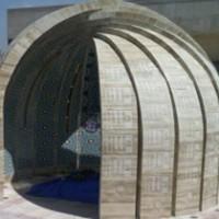 پایان ساخت المان شهدای گمنام دانشگاه آزاد مشهد