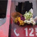 مراسم دانشجویان پایتخت به یاد شهدای آتشنشان