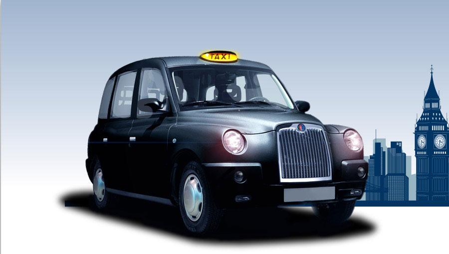تاکسی برقی لندن