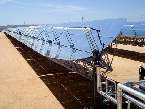 نیروگاه خورشیدی جدید