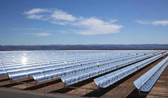 نیروگاه خورشیدی بافق