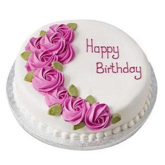 کیک تولد دختر خاله