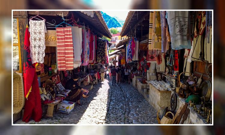 بازار خرید در جزیره قشم